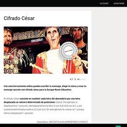 Cifrado César - EduEscapeRoom