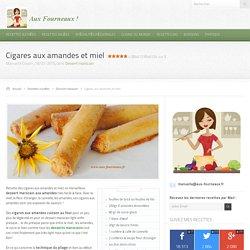 Cigares aux amandes et miel