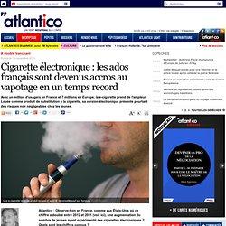 Cigarette électronique : les ados français sont devenus accros au vapotage