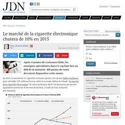 Le marché de la cigarette électronique chutera de 10% en 2015