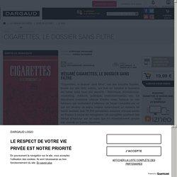 Cigarettes, le dossier sans filtre - BD