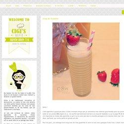 Cigi's World: Sirop de rhubarbe