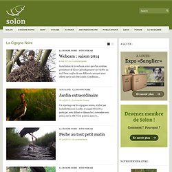 SOLON - Nature Gestion Photographie