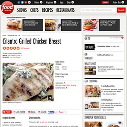 Cilantro Grilled Chicken Breast Recipe