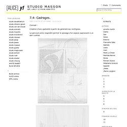 Cilette « studio masson