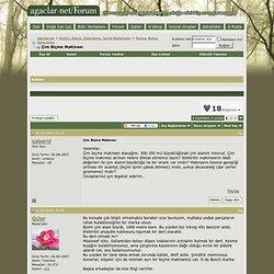 Çim Biçme Makinası - agaclar.net