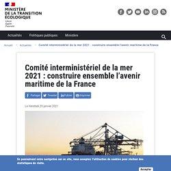 CIMer2021 : transport maritime en France