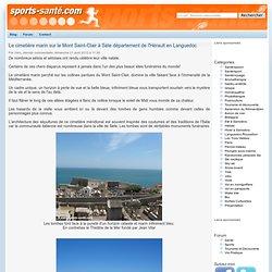 Le cimetière marin sur le Mont Saint-Clair à Sète département de l'Hérault en Languedoc