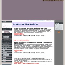 Cimetière du Père-Lachaise - Bertrand Beyern
