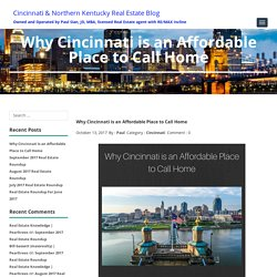 Why Cincinnati is an Awesome & Affordable Place to Call Home
