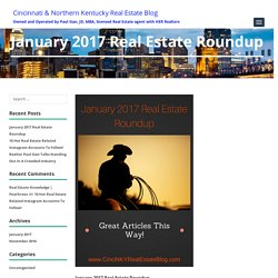 January 2017 Great Real Estate Articles