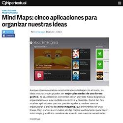 Cinco aplicaciones para hacer mind maps