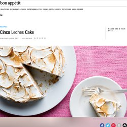 Cinco Leches Cake Recipe