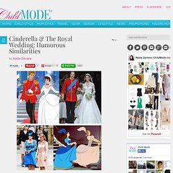 Cinderella & The Royal Wedding: Humorous Similarities — Child Mode