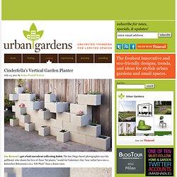 Cinderfella's Vertical Garden Planter
