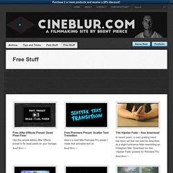 Free StuffFree Stuff - Cineblur