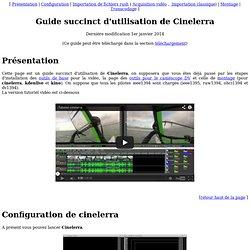 Cinelerra : guide