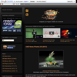 C4D News Plants (28.2.2013)