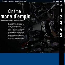 Cinéma, mode d'emploi ou comment fabriquer un film en France