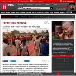 Cinéma: dans les coulisses du Fespaco