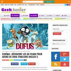 Cinéma : découvre les 20 films pour geeks de 2016 (trailers inclus !)