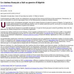 Le cinéma français a fait sa guerre d'Algérie
