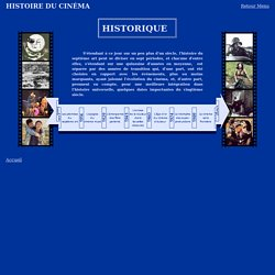 Histoire du Cinéma - Historique