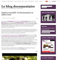Le documentaire en milieu rural