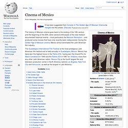 Cinema of Mexico