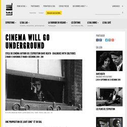 Cinema will go underground