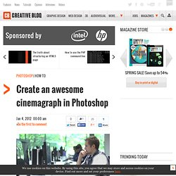 Create an awesome cinemagraph in Photoshop