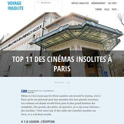 Top 11 des cinémas insolites à Paris