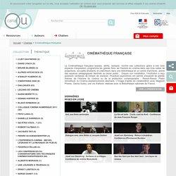 Cinémathèque française - Chaînes - Canal-U