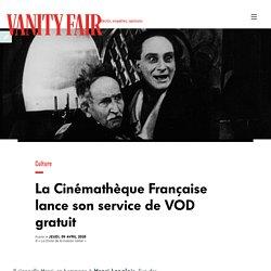 La Cinémathèque Française lance son service de VOD gratuit