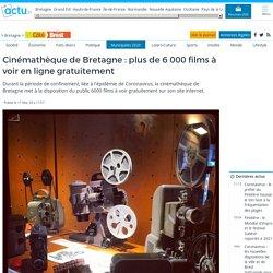 Cinémathèque de Bretagne : plus de 6 000 films à voir en ligne gratuitement