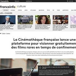 La Cinémathèque française lance une plateforme pour visionner gratuitement des films rares en temps de confinement
