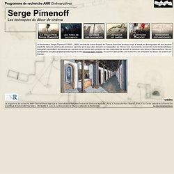 La Cinémathèque française : Serge Pimenoff - Les techniques du décor de cinéma