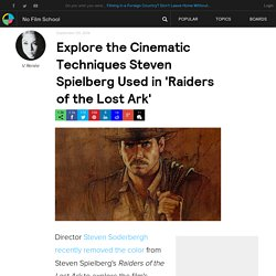 Explore the Cinematic Techniques Steven Spielberg Used in 'Raiders of the Lost Ark'
