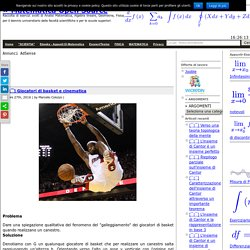¯] Giocatori di basket e cinematica