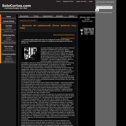 Notas, artículos y crítica cinematográfica en SoloCortos.com Escribe.