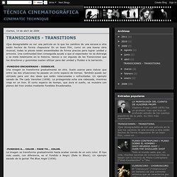 TRANSICIONES - TRANSITIONS