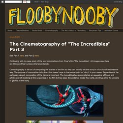 "Flooby Nooby: The Cinematography of ""The Incredibles"" Part 3"