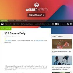 Hack Ikea: $15 Camera Dolly « Cinematography