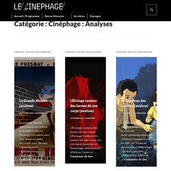 Cinéphage : Analyses
