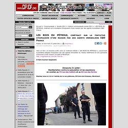 LES ROIS DU PÉTROLE, vidéo de la tentative d'expulsion d'une maison par des agents immobiliers I@D France