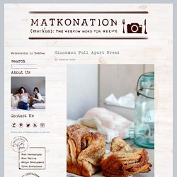 Cinnamon Pull Apart Bread – Matkonation
