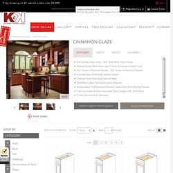 Buy Cinnamon Glaze RTA (Ready to Assemble) Kitchen Cabinets Online