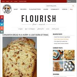 Cinnamon bread in a hurry - Flourish