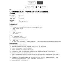 Cinnamon Roll French Toast Casserole - Lemon Tree Dwelling