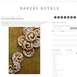 Cinnamon Roll Cookies | Bakers Royale